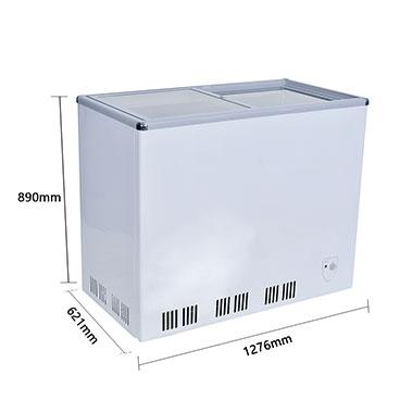 平面玻璃移门多功能水柜